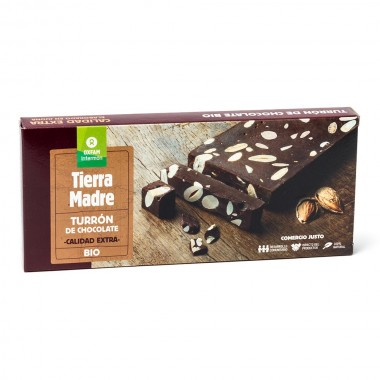 TURRON CHOCOLATE BIO CON...