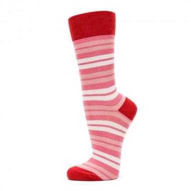 VERALUNA SOCKS PINK RED...