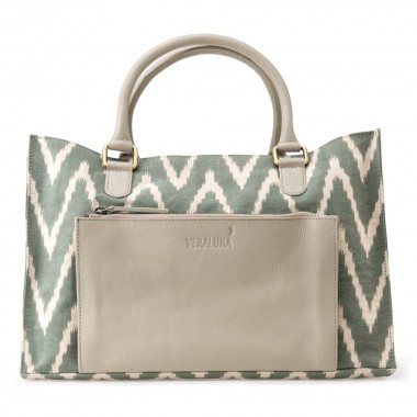 BOLSO COURIER CANVAS IKAT...