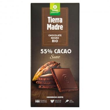 TABLETA CHOCOLATE NEGRO 55%...